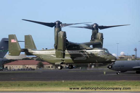 The Aviation Photo Company: Latest Additions &emdash; US Marines VMX-1 Bell-Boeing MV-22B Osprey 168339/12 at Lajes (2016)