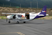 FedEx Cessna 208B at Kapalua (2015)