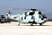 Indian Navy 330 Squadron Westland Sea King Mk42B IN528 (2006)