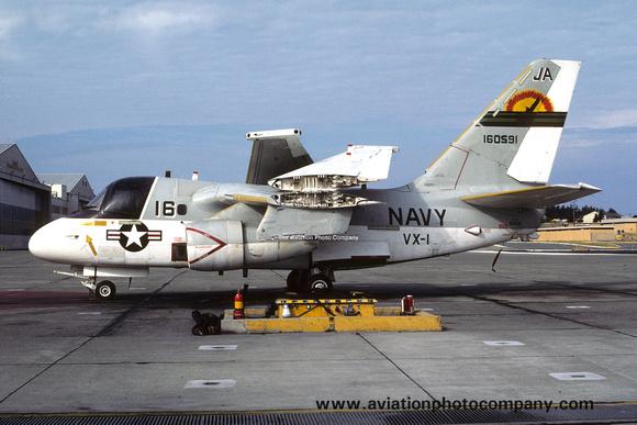 The Aviation Photo Company: S-3 Viking (Lockheed) &emdash; US Navy VX-1 Lockheed S-3A 160591/JA-16 (1983)