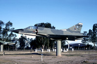 Argentinian Air Force Dassault Mirage 3CJ 714 displayed at Mendoza (2005)