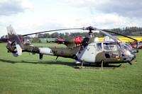 AAC 656 Squadron Westland Gazelle AH.1 XZ318/V at Middle Wallop (1992)