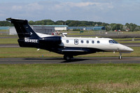 Embraer Phenom 300 N545EE at Prestwick (2016)